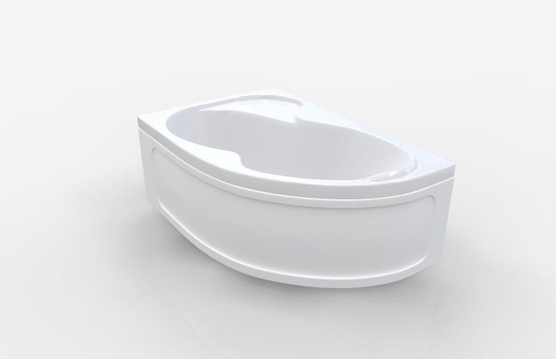 Акриловая ванна Marka One Aura 150x105 левая