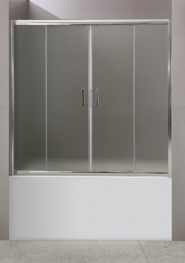Шторка на ванну BelBagno Uno-VF-2 180 см прозрачная