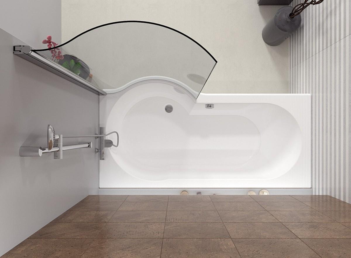 Акриловая ванна Riho Dorado 170 L