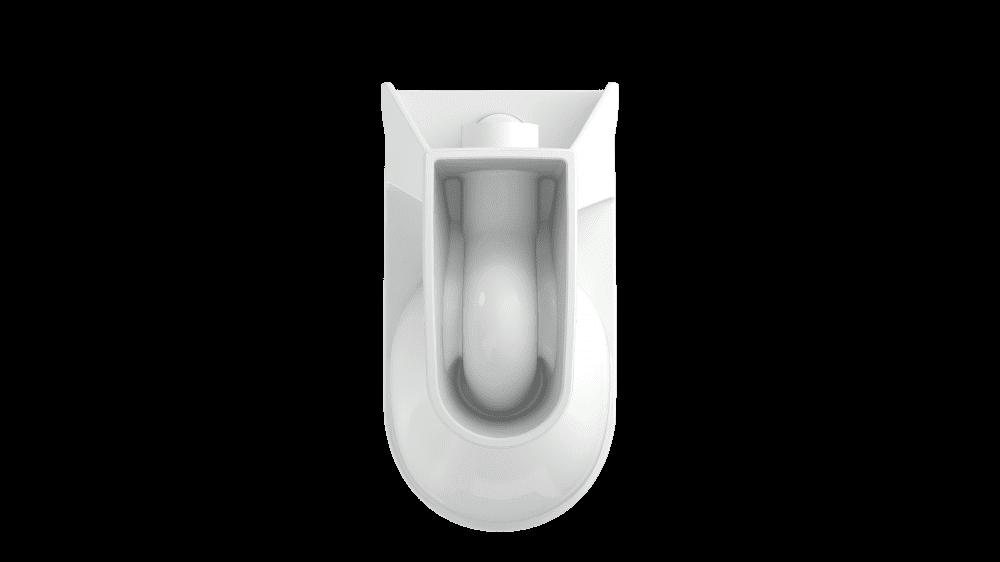 Унитаз компакт Cersanit Kristal 011 с сиденьем дюропласт и микролифтом easy-off