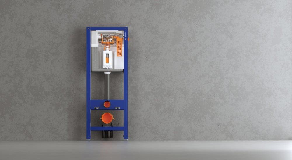 Инсталляция Cersanit Aqua 40 Quick Fix металлический каркас для унитаза с бачком