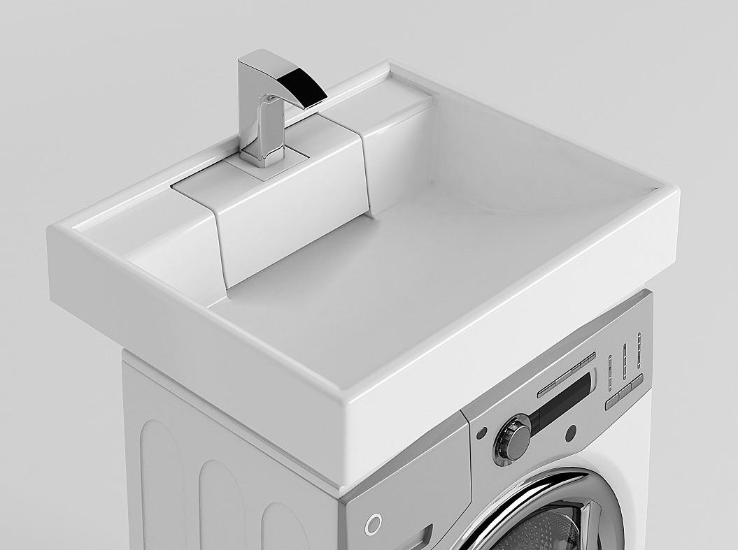 Раковина для стиральной машины Акватон Рейн 60