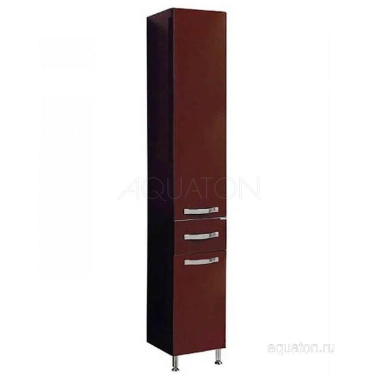 Шкаф-колонна Акватон Ария Н темно-коричневая