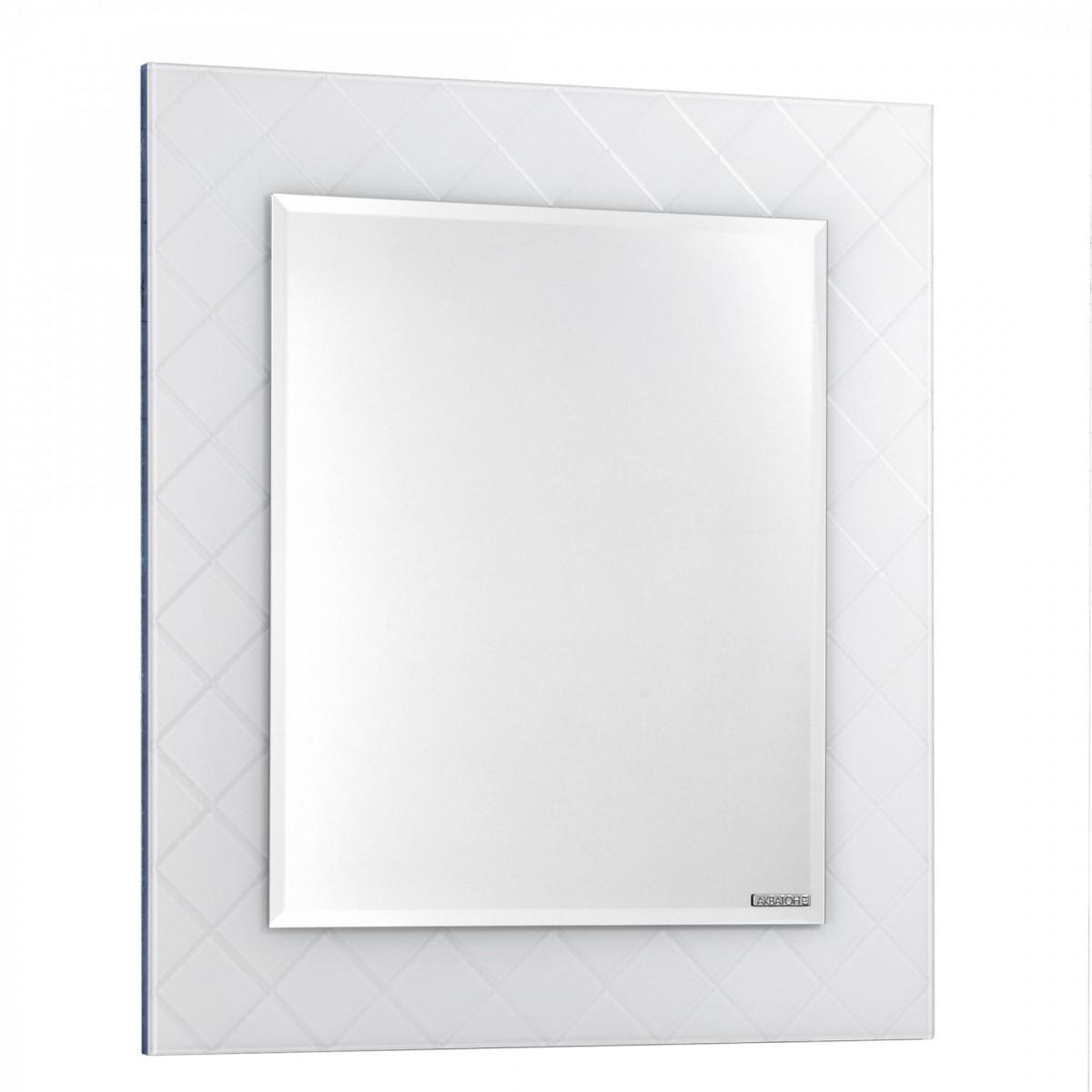 Зеркало Акватон Венеция 75 в белой раме