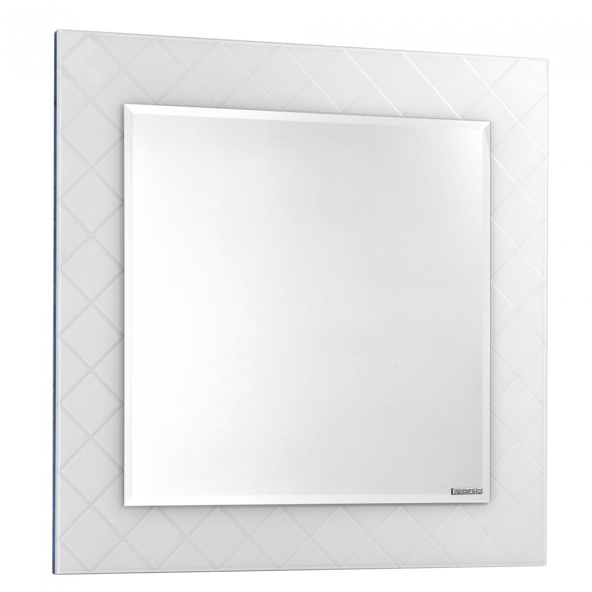 Зеркало Акватон Венеция 90 в белой раме