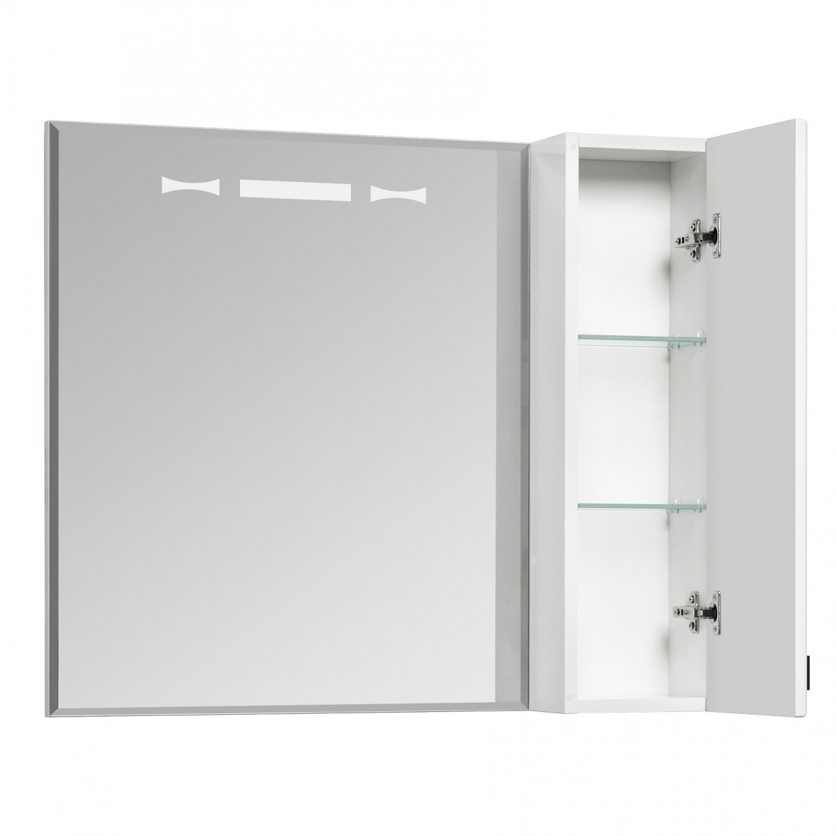 Зеркальный шкаф Акватон Диор 80
