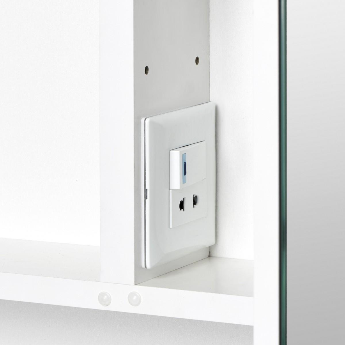 Зеркальный шкаф Акватон Инфинити 65 белый