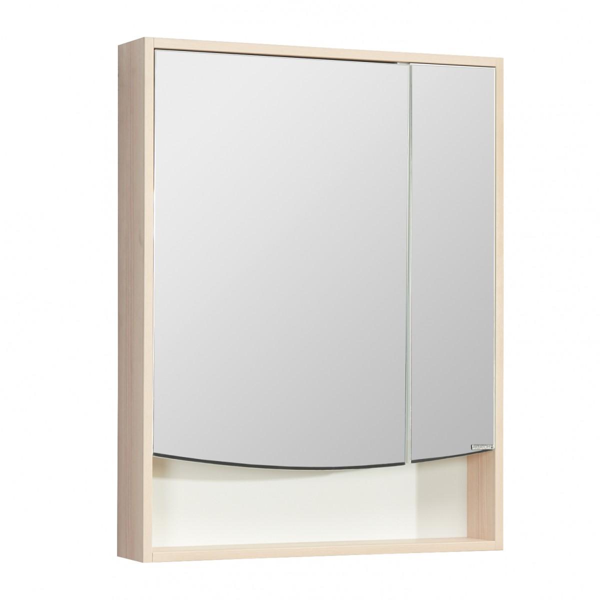 Зеркальный шкаф Акватон Инфинити 65 ясень Коимбра