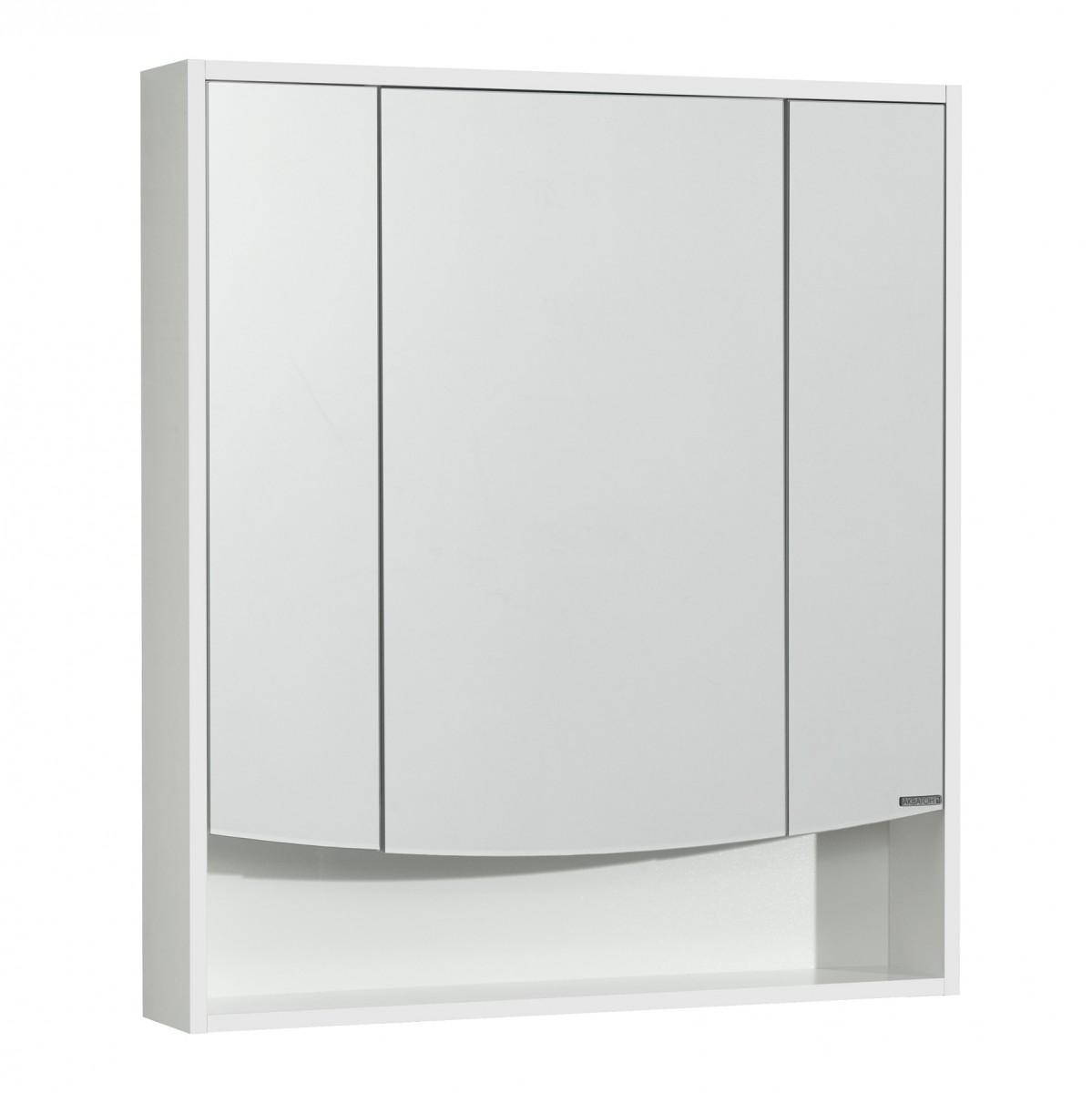 Зеркальный шкаф Акватон Инфинити 76 белый