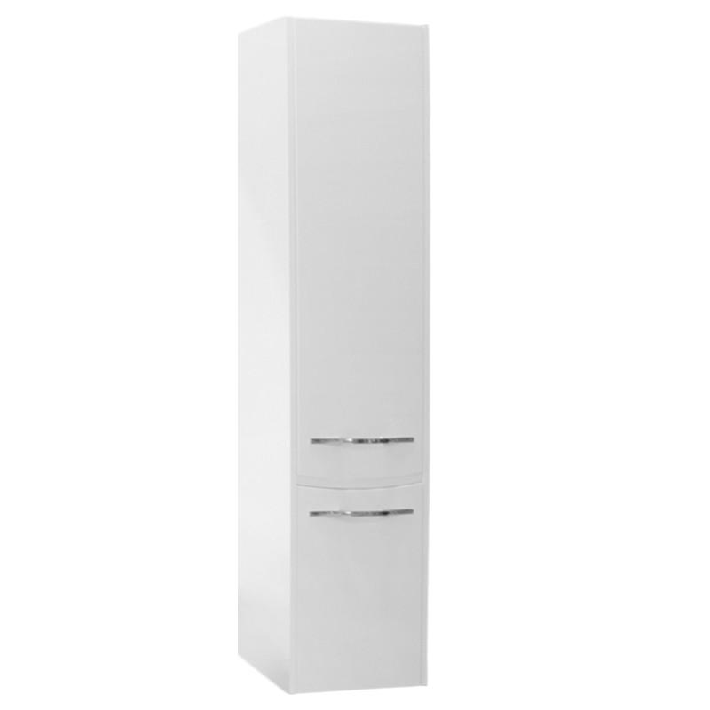 Шкаф-колонна Акватон Инфинити белая правая