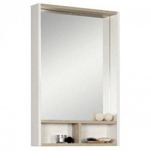 Зеркальный шкаф Акватон Йорк 55 ясень фабрик