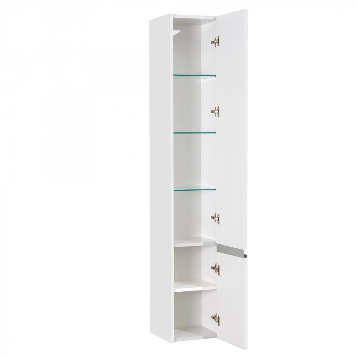 Шкаф-колонна Акватон Капри белая правая