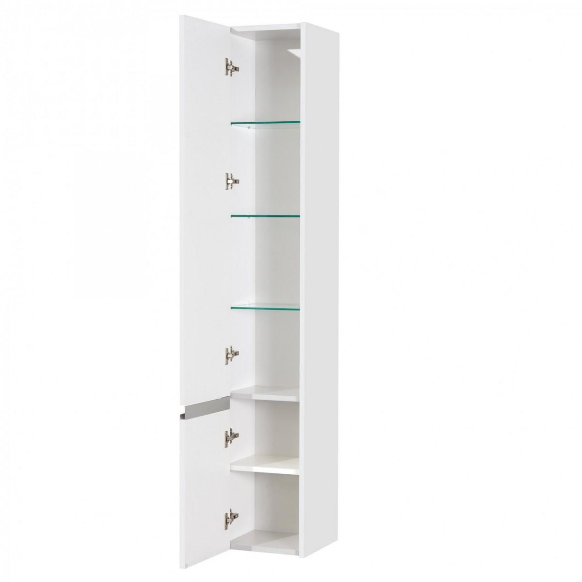 Шкаф-колонна Акватон Капри белая левая