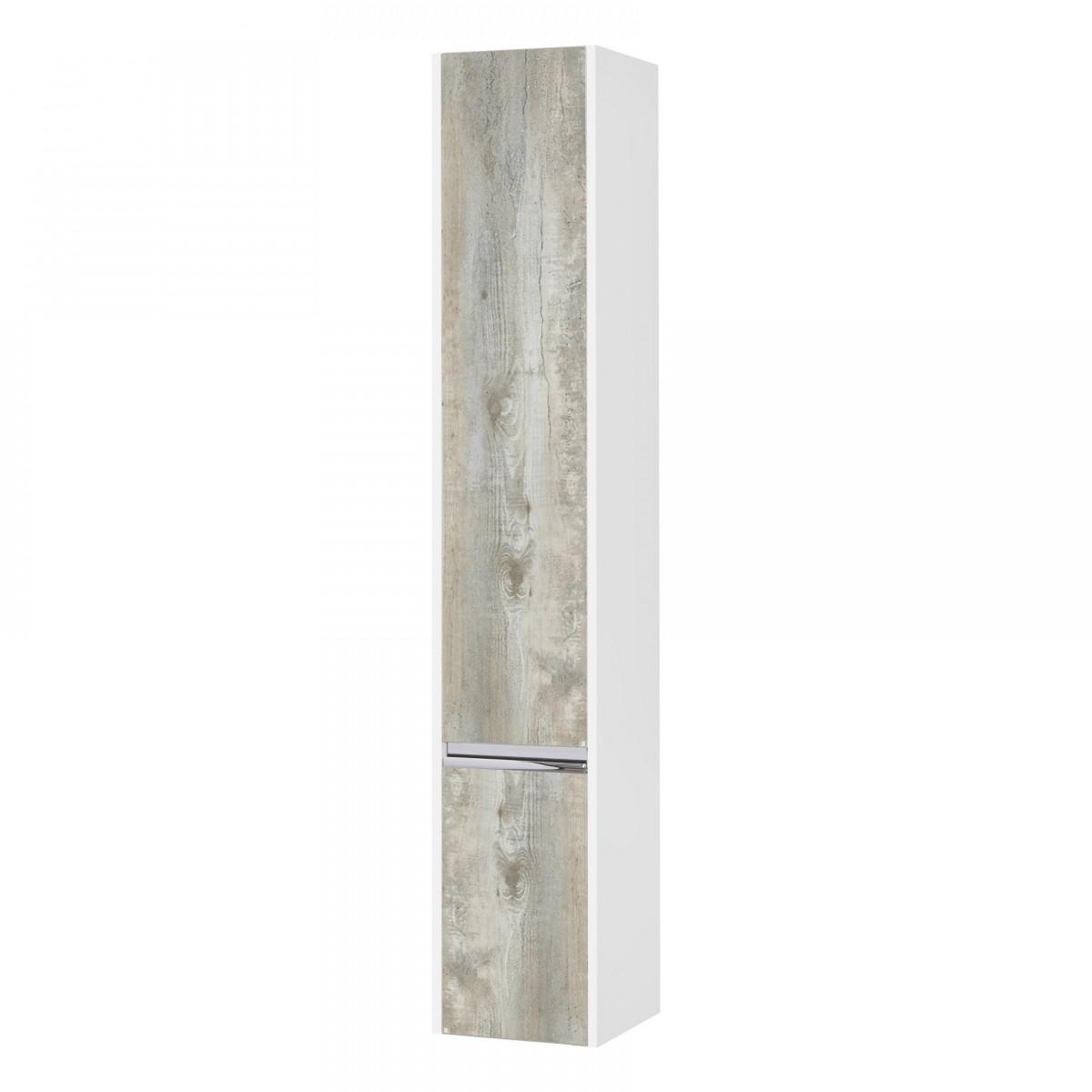 Шкаф-колонна Акватон Капри бетон пайн левая