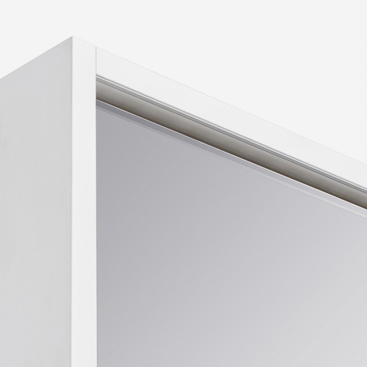 Зеркальный шкаф Акватон Капри 60 белый