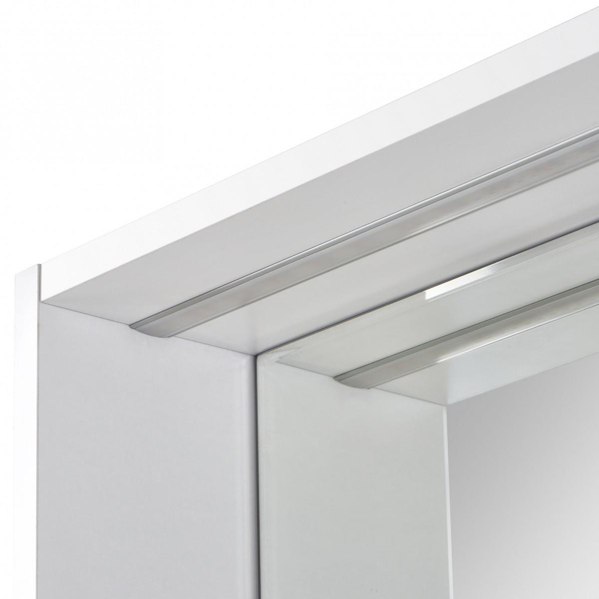 Зеркало Акватон Капри 80 белое