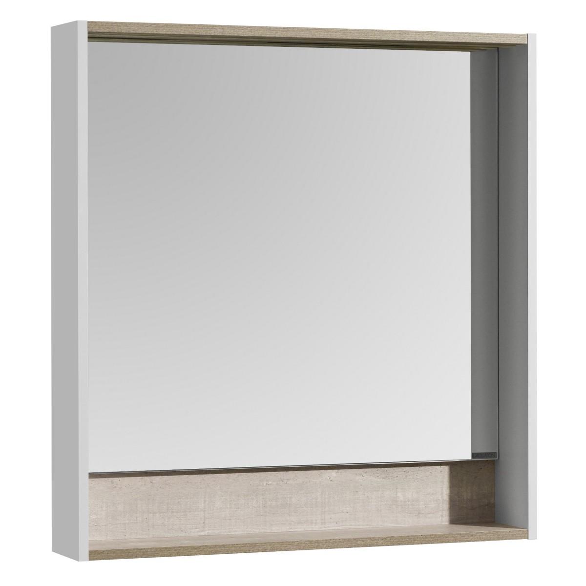 Зеркало Акватон Капри 80 бетон пайн