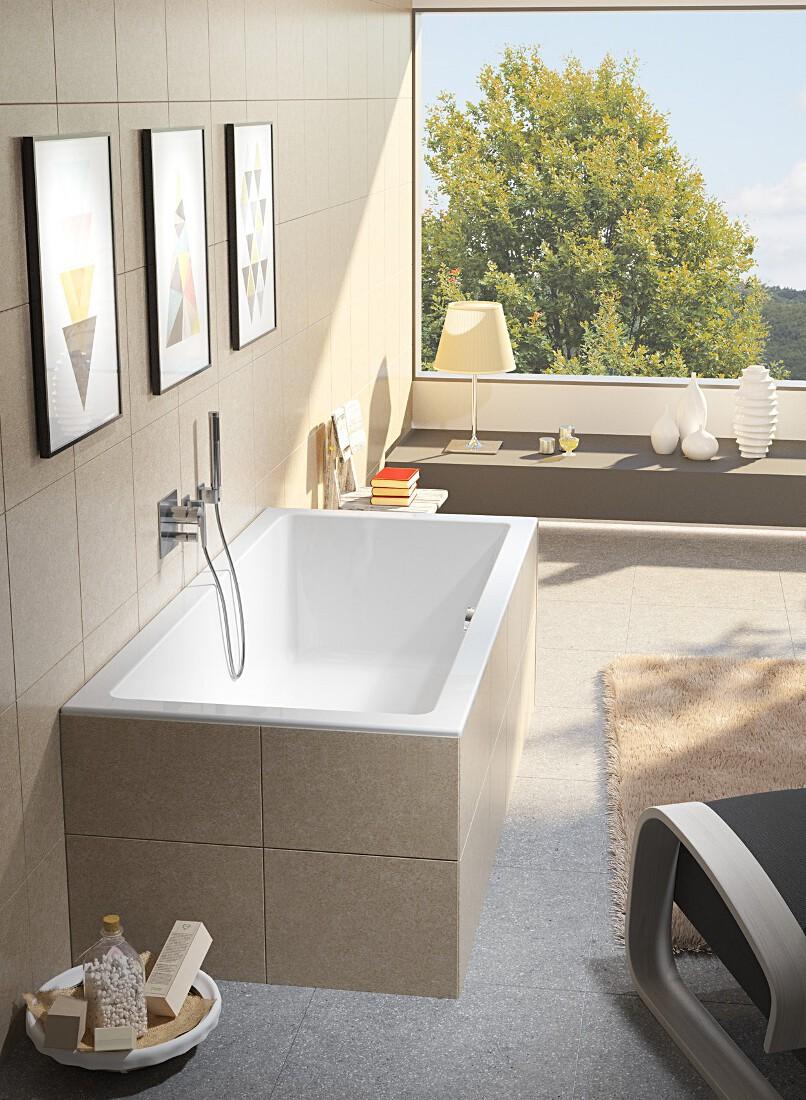 Акриловая ванна Riho Lugo 190x90