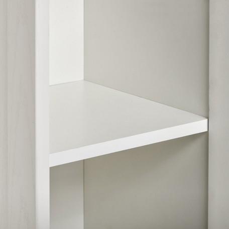 Шкаф-колонна Акватон Леон подвесная дуб белый