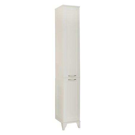 Шкаф-колонна Акватон Леон дуб белый