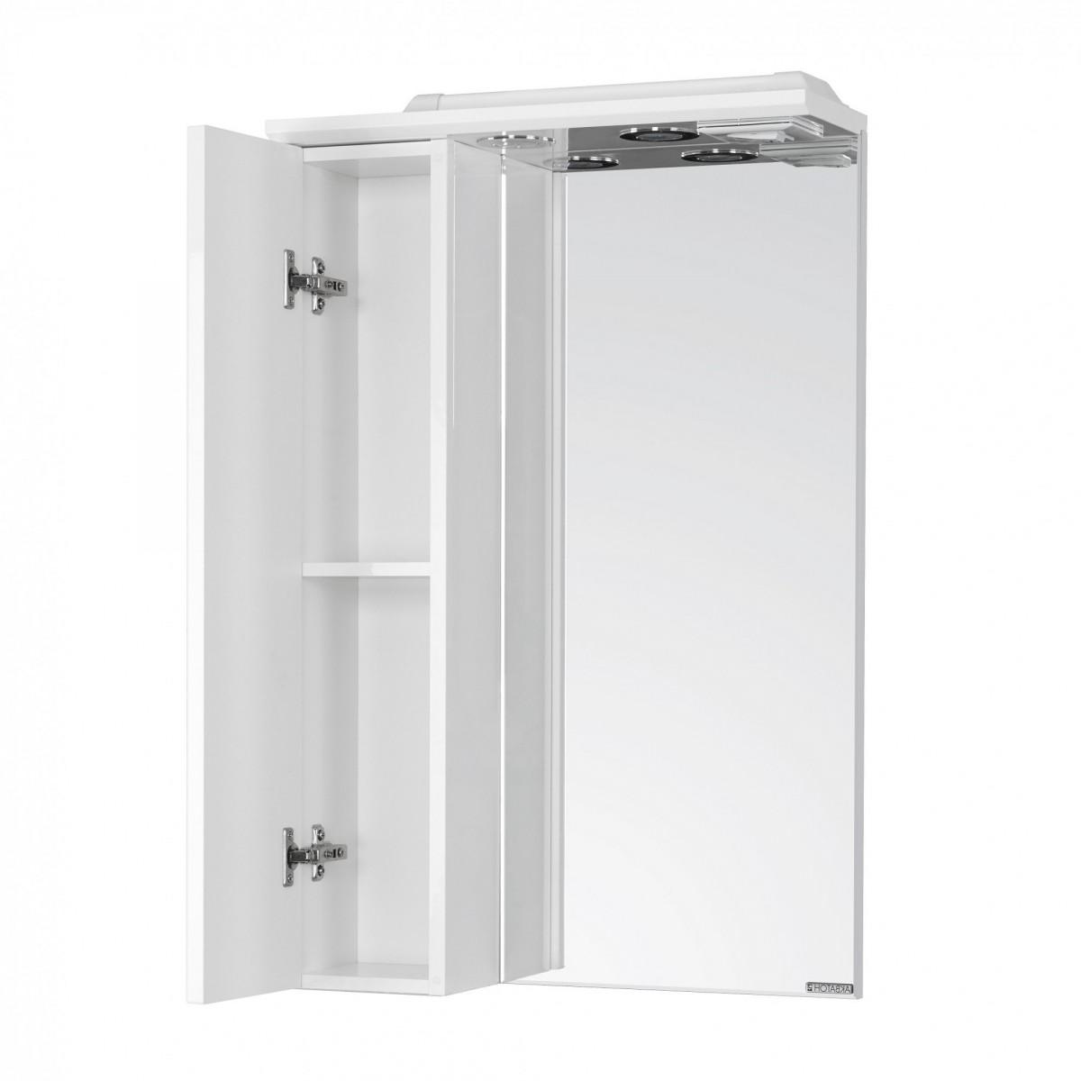 Зеркальный шкаф Акватон Панда 50 левый