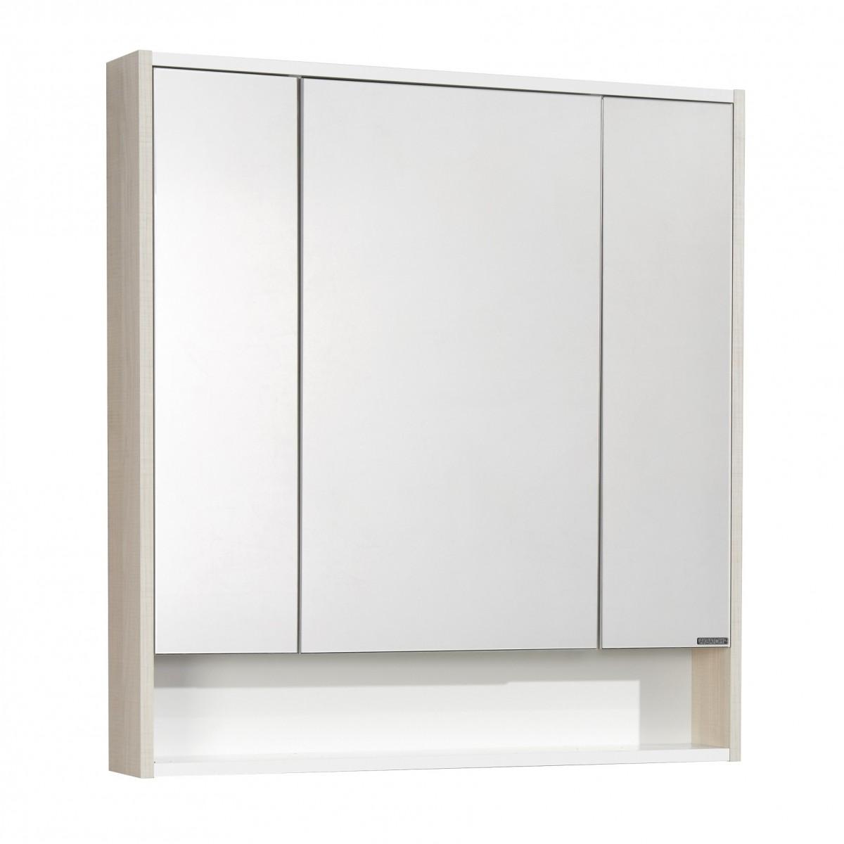 Зеркальный шкаф Акватон Рико 80