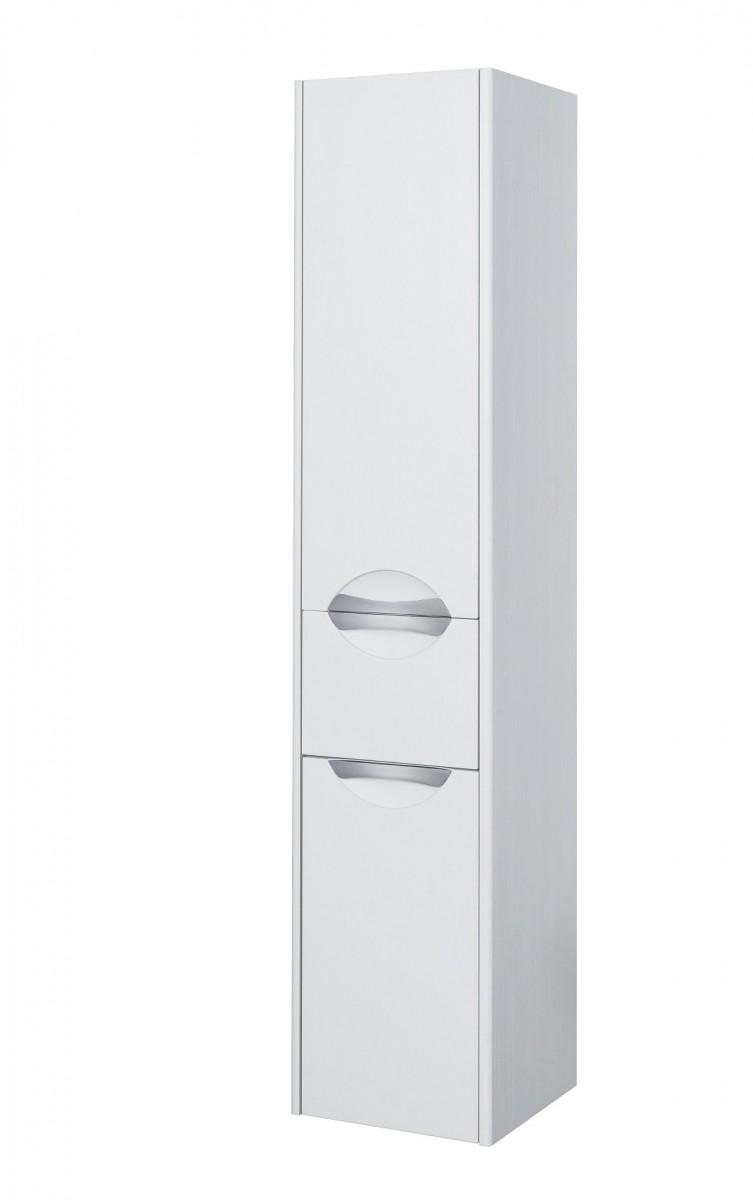 Шкаф-колонна Акватон Сильва дуб полярный левая