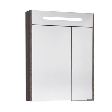 Зеркальный шкаф Акватон Сильва 60 дуб макиато