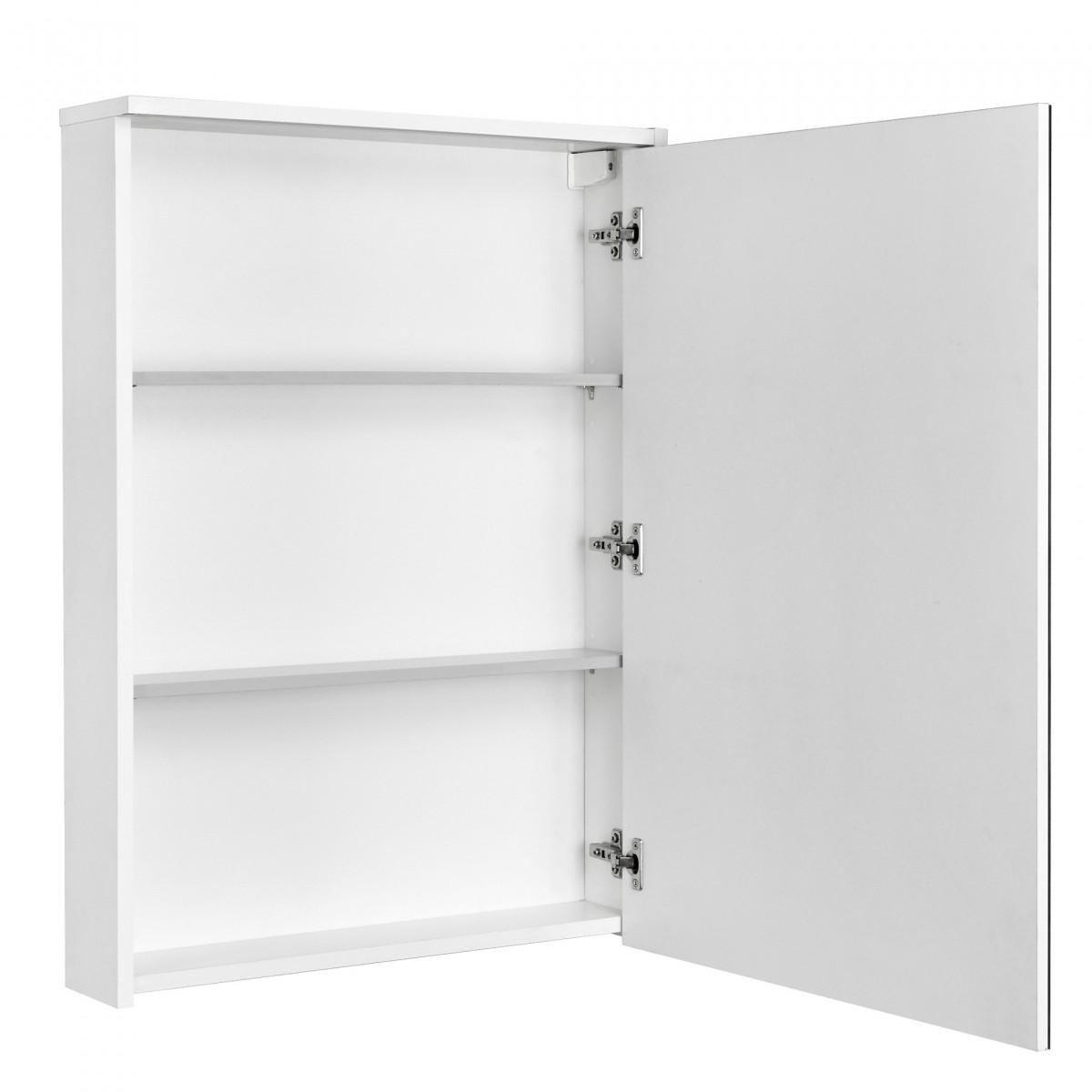 Зеркальный шкаф Акватон Стоун 60 белый