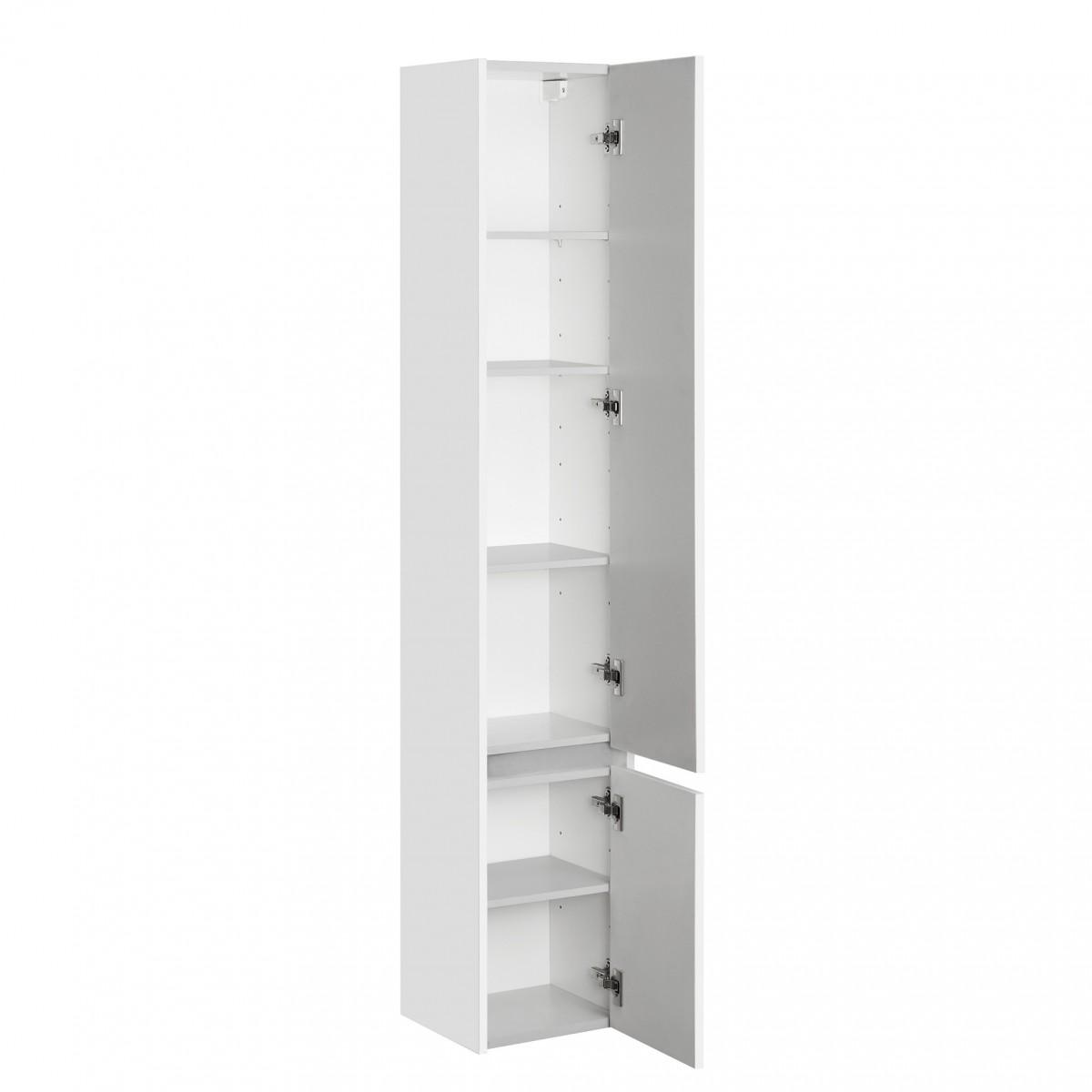 Шкаф-колонна Акватон Стоун белая