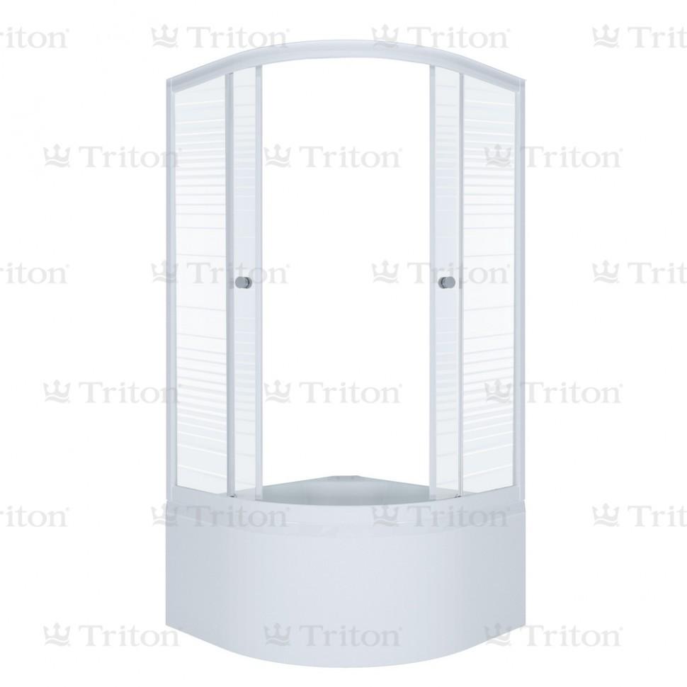Душевое ограждение Тритон Стандарт Б 90*90 высокий поддон