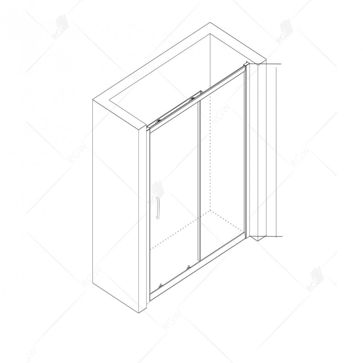 Душевая дверь RGW CL-14B