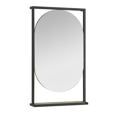 Зеркало Акватон Лофт Фабрик 50 дуб эндгрейн
