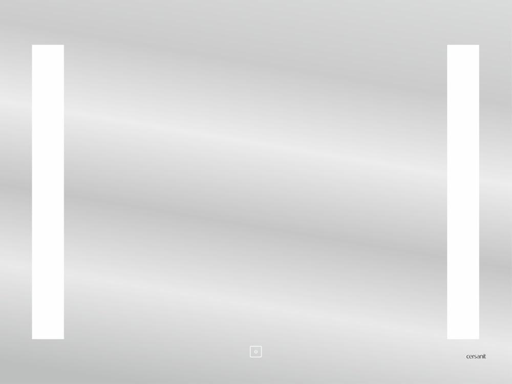 Зеркало Cersanit LED 020 BASE 80