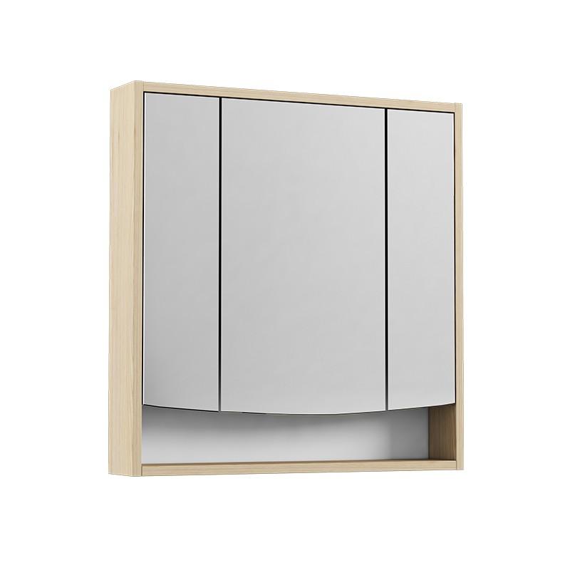 Зеркальный шкаф Акватон Инфинити 76 ясень коимбра