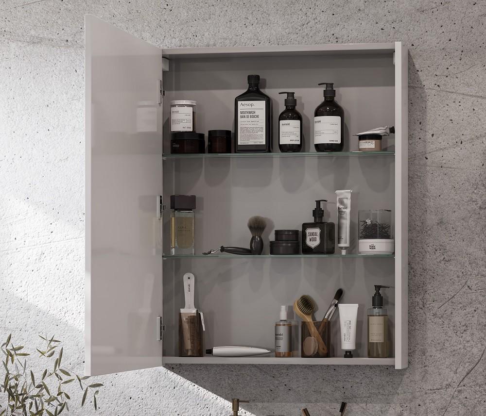 Зеркальный шкаф Акватон Нортон 65