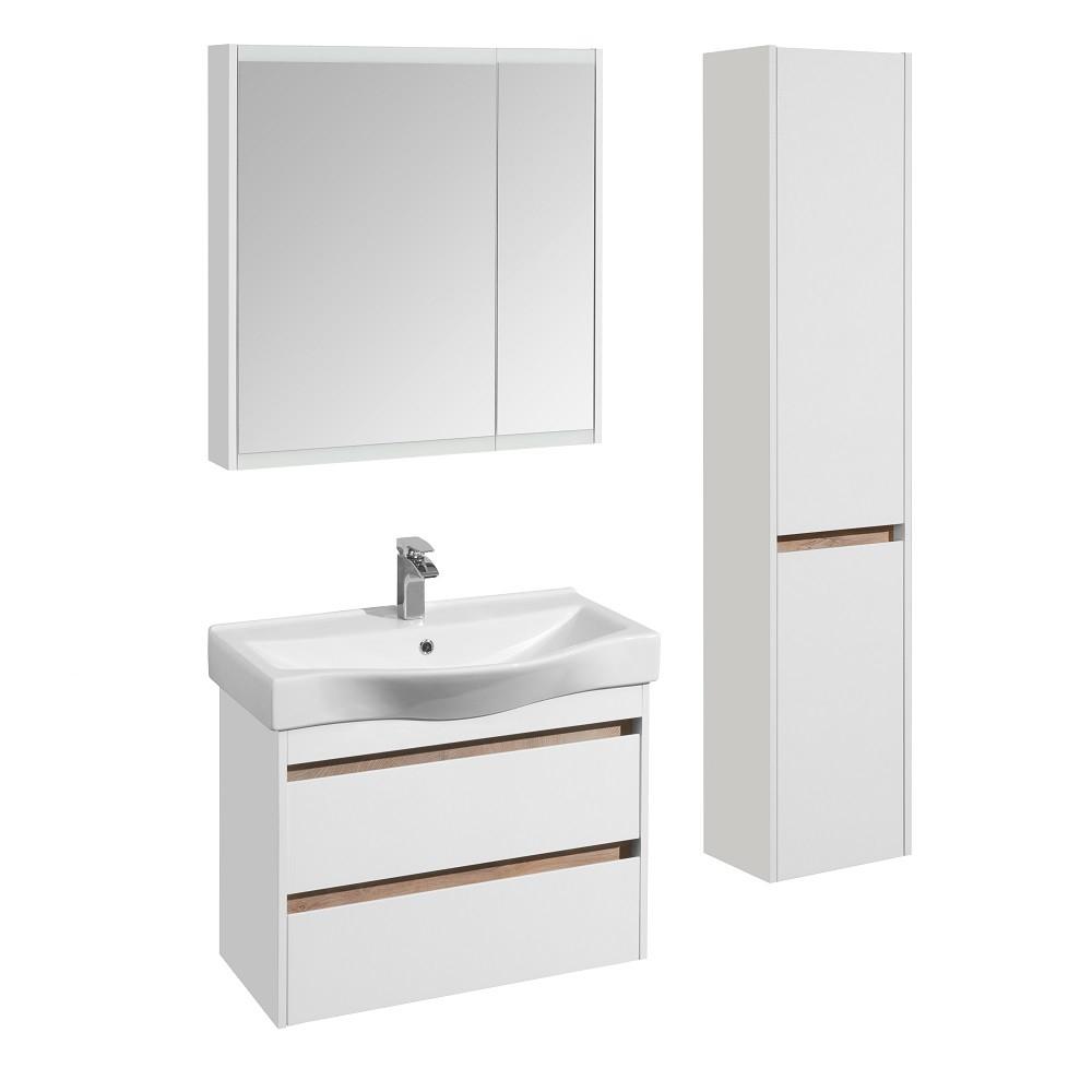 Зеркальный шкаф Акватон Нортон 80