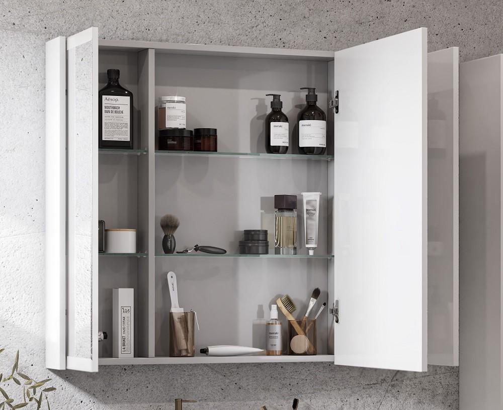 Зеркальный шкаф Акватон Нортон 100