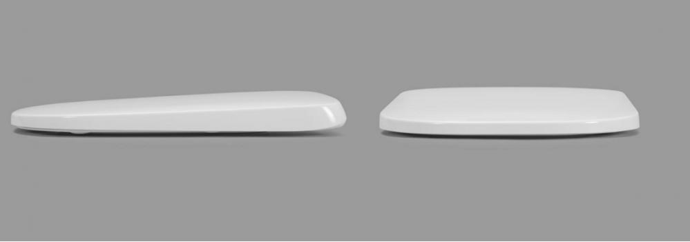 Унитаз подвесной Roca Gap Rimless безободковый с сиденьем микролифт