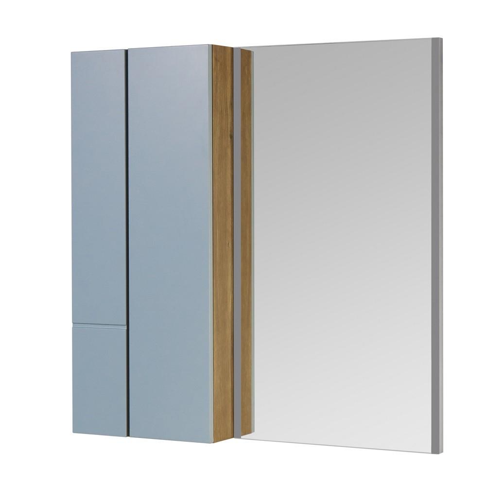 Зеркало со шкафчиком Акватон Мишель 100