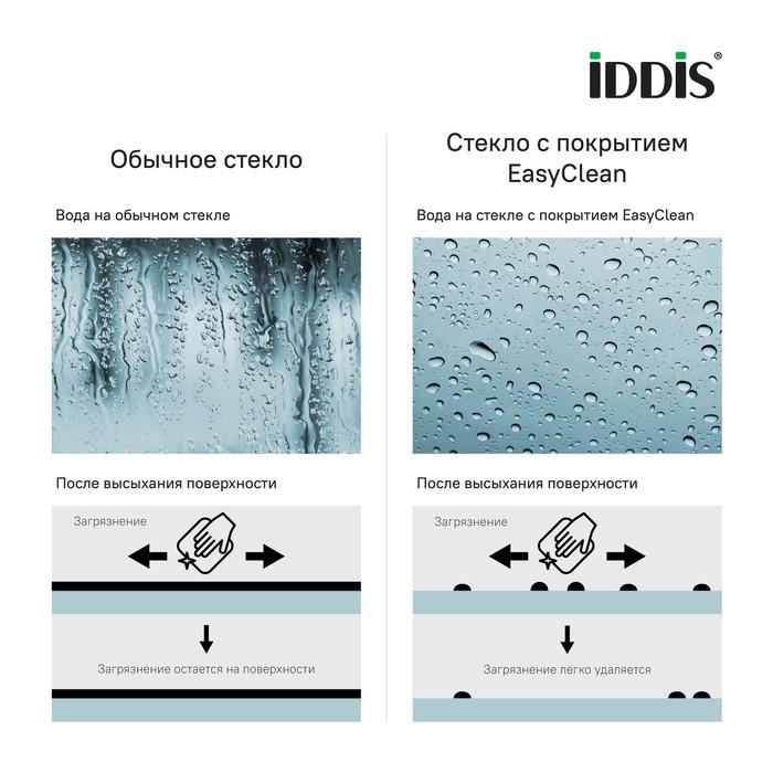 Душевое ограждение Iddis Zodiac 90x90 квадратное