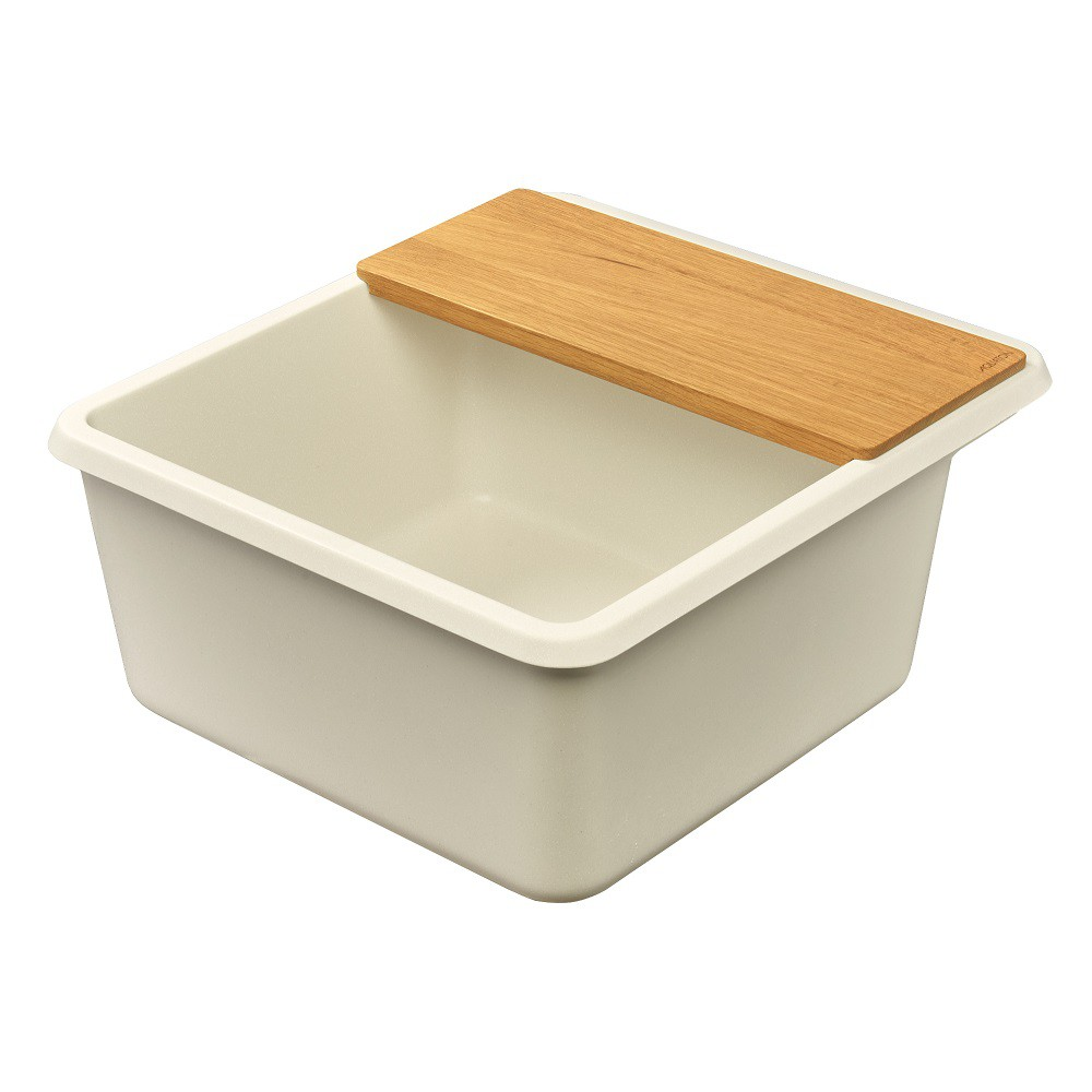 Мойка кухонная Акватон Беллис 57 жемчуг из литого мрамора