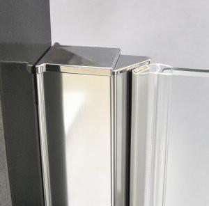 Душевая дверь ELEGANT NEO GDO1N/800/685-785*2015 brillant/transparent/6mm + GZ профиль