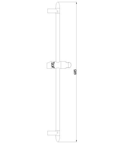 Душевая штанга Lemark LM8063C