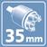 Картридж 35 мм.