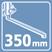 Плоский излив 350 мм.