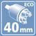 Картридж 40 мм.